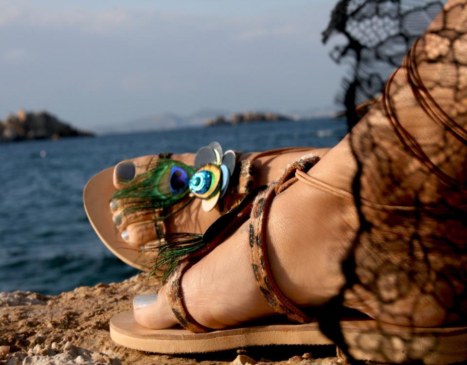 f5a6f5f5bec11 Marbe Unique Handcrafts | Genuine Leather Sandals Boho Greek Sandals